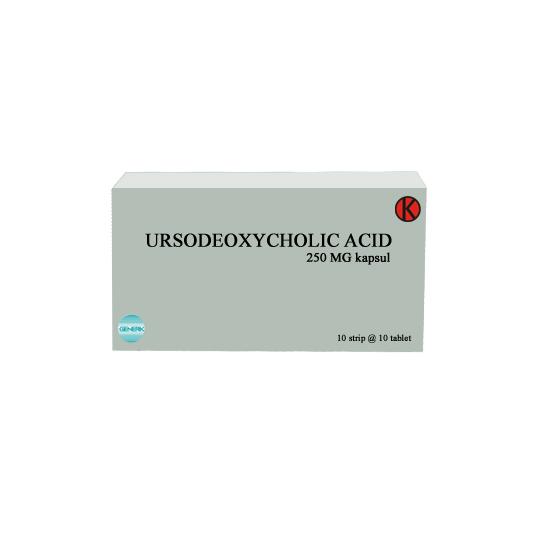 URSODEOXYCHOLIC ACID 250 MG 10 TABLET