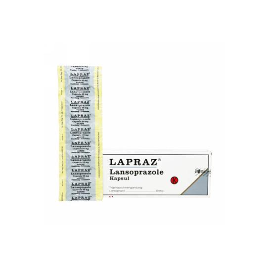 LAPRAZ 30 MG 10 KAPSUL