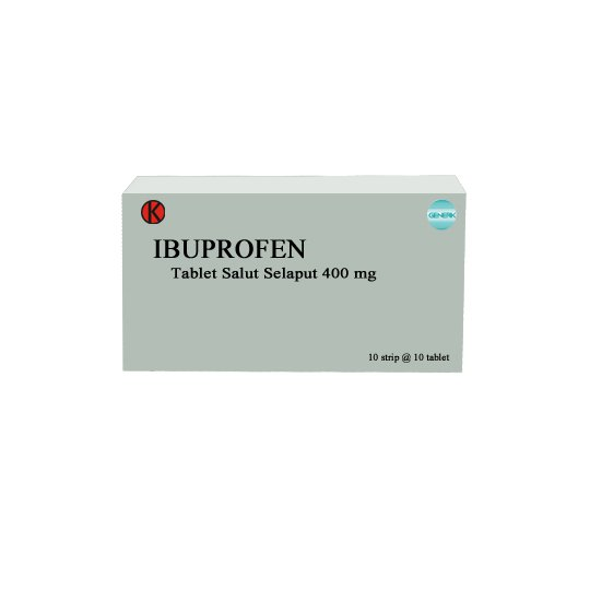IBUPROFEN 400 MG 10 TABLET