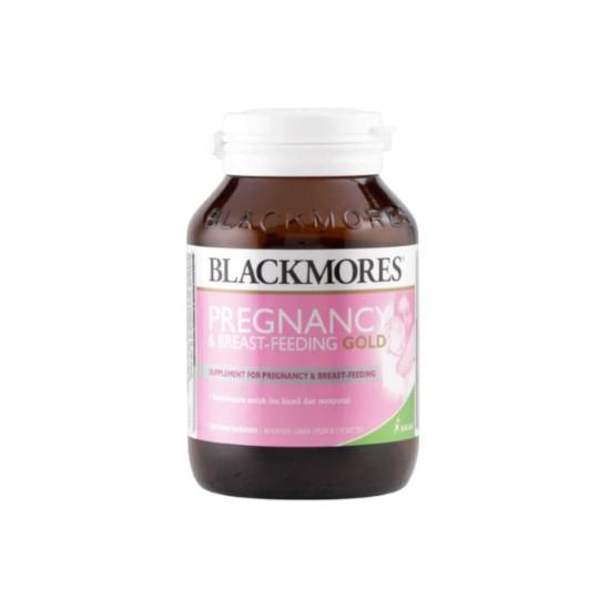BLACKMORES PREGNANCY & BREAST FEEDING GOLD 60 KAPSUL