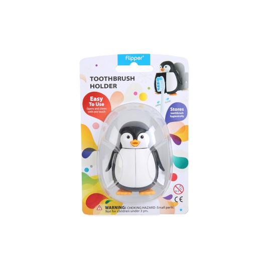 Flipper Toothbrush Holder Penguin