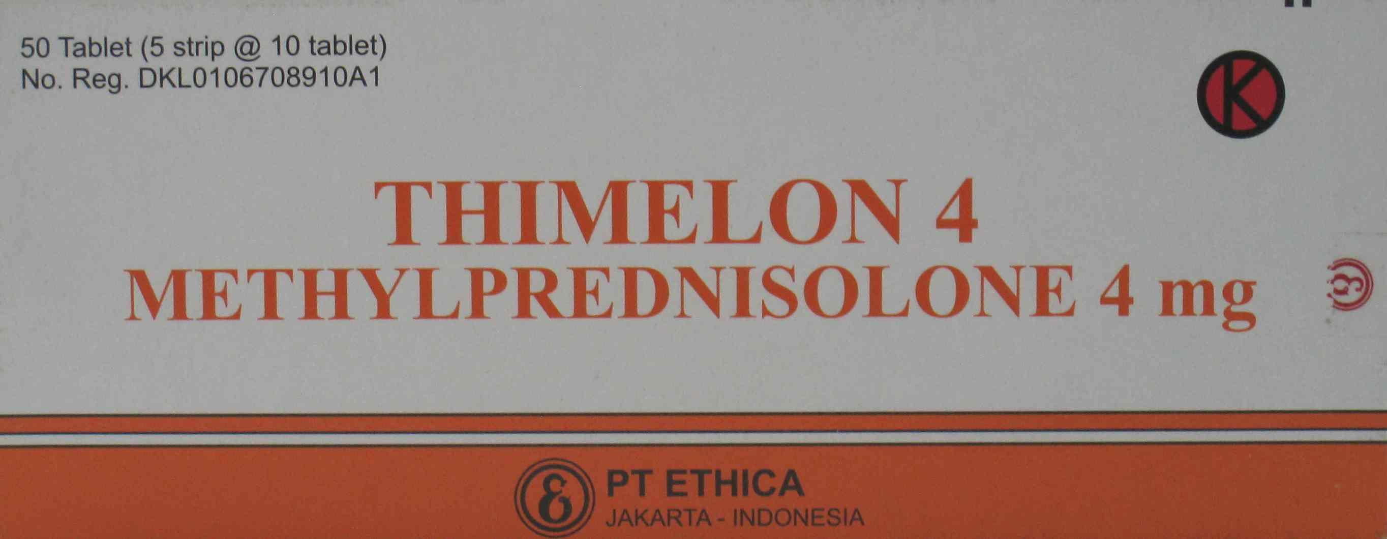 THIMELON 4 MG 10 TABLET
