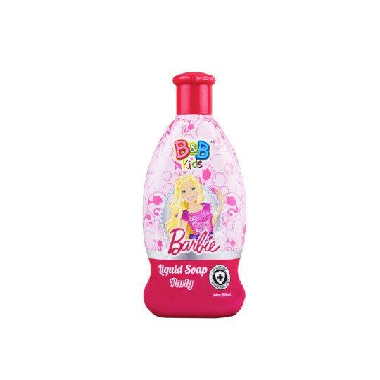 B&B KIDS BARBIE LIQUID SOAP PARTY 250 ML
