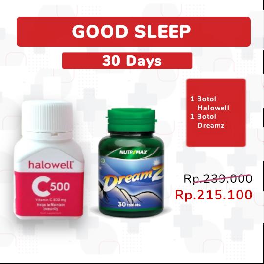 GOOD SLEEP PACKAGE 30-DAYS - PAKET SEHAT
