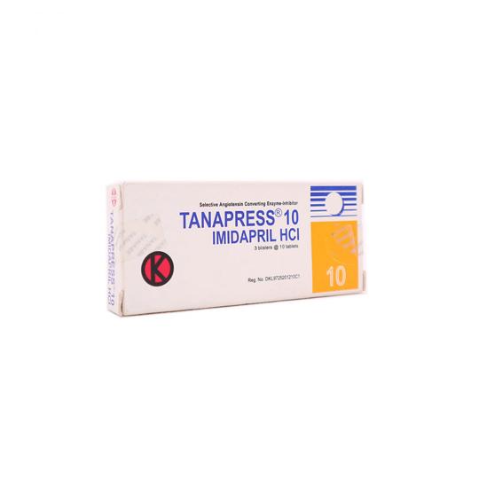 TANAPRESS 10 MG 10 TABLET