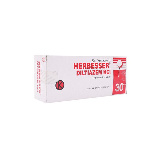 HERBESSER  30 MG 10 TABLET