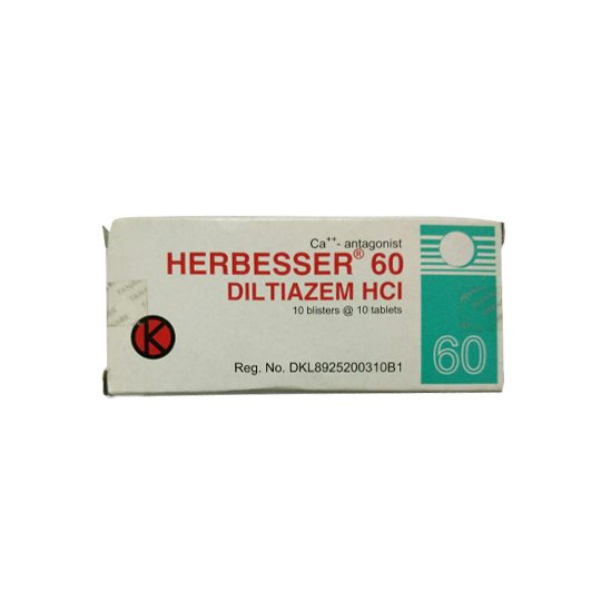 HERBESSER 60 MG 10 TABLET