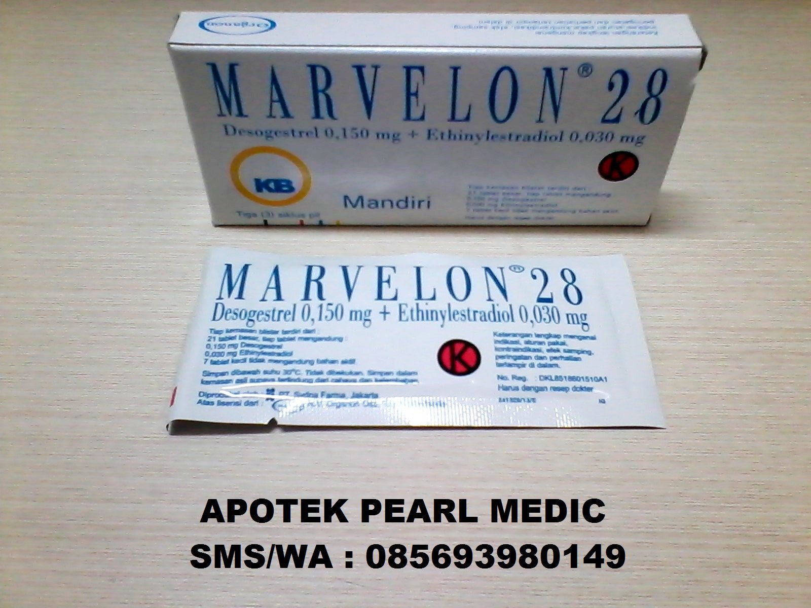 MARVELON 28 LIMAS TABLET