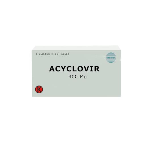 ACYCLOVIR 400 MG 10 TABLET