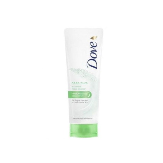 DOVE FACIAL CLEANSER DEEP PURE 50G