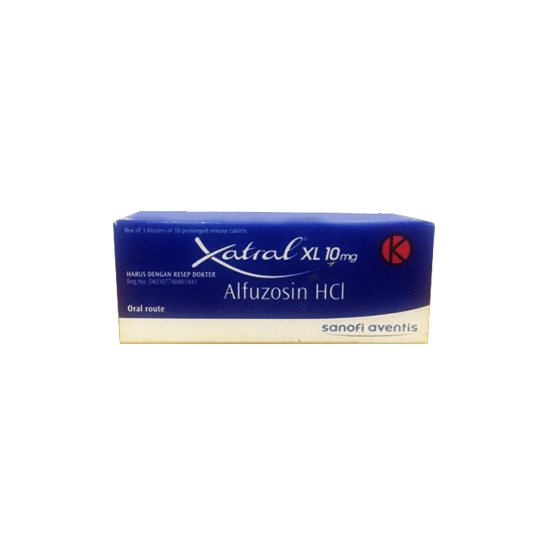 XATRAL XL 10 MG 10 TABLET