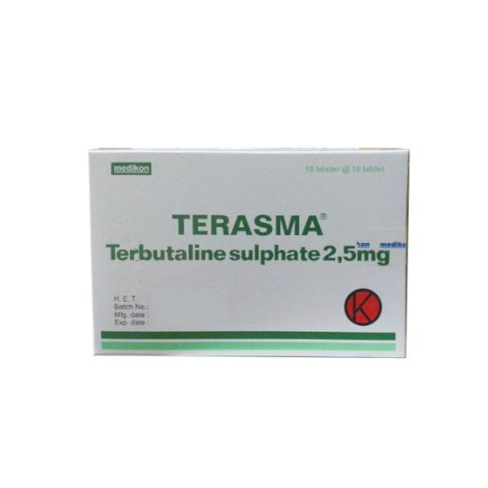 TERASMA 2.5 MG 10 TABLET