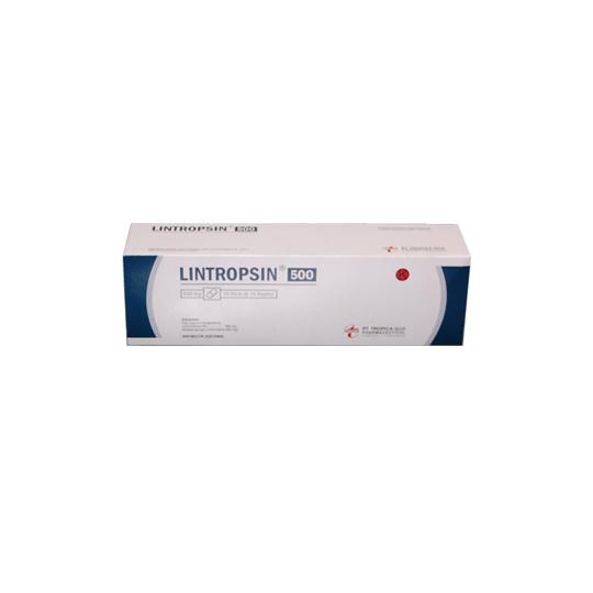 LINTROPSIN 500 MG 10 KAPSUL