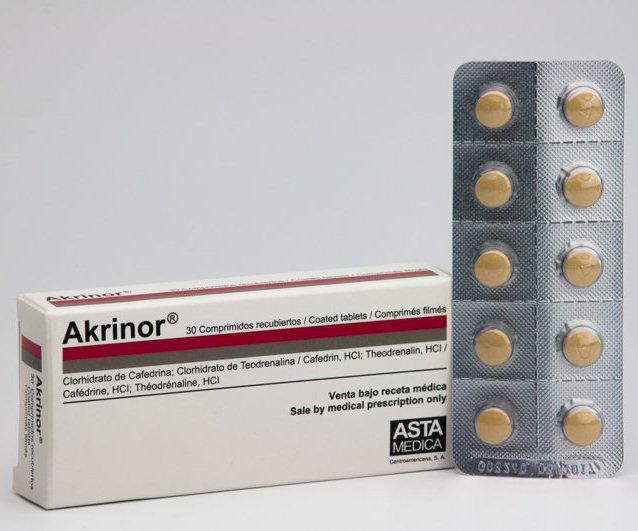 AKRINOR 10 TABLET