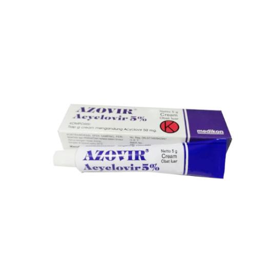 AZOVIR 5% CREAM 5 G