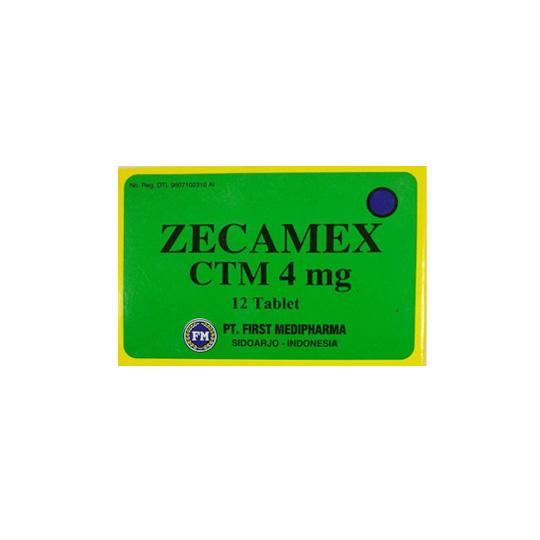 ZECAMEX 4 MG 12 TABLET