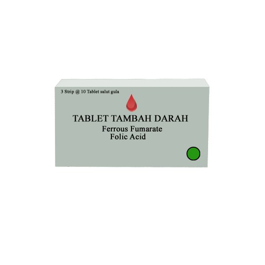 TABLET TAMBAH DARAH 10 TABLET