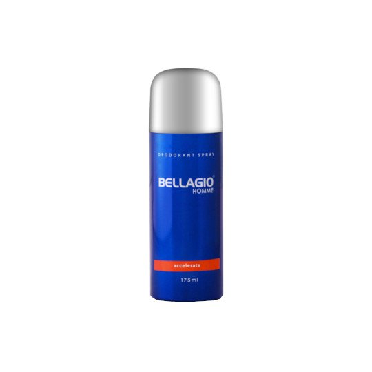 BELLAGIO DEODORANT SPRAY ACCELERATE 175 ML