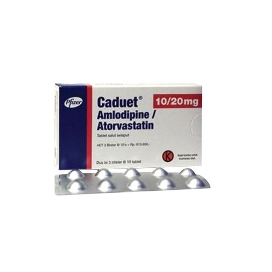 Caduet Tablet 10 mg/20 mg