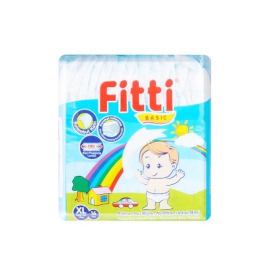 Fitti Basic XL 16 Pieces