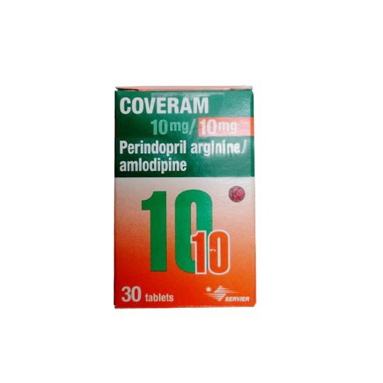 COVERAM 10 MG/10 MG 30 TABLET