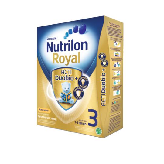 NUTRILON ROYAL 3 MADU SUSU PERTUMBUHAN BUBUK 400 GR