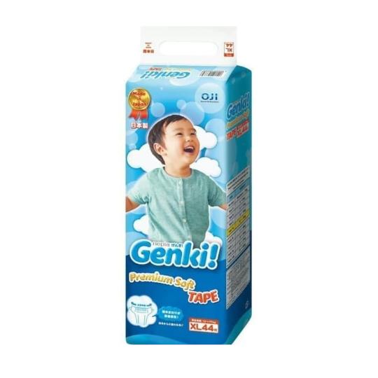 Nepia Genki Premium Soft Tape Size XL 44 Pieces