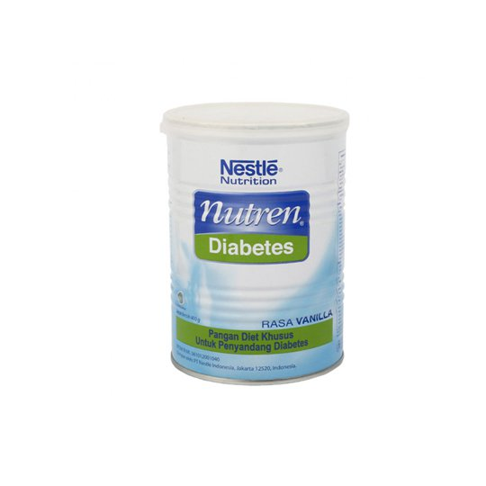 NESTLE NUTREN DIABETES VANILLA 400 GR