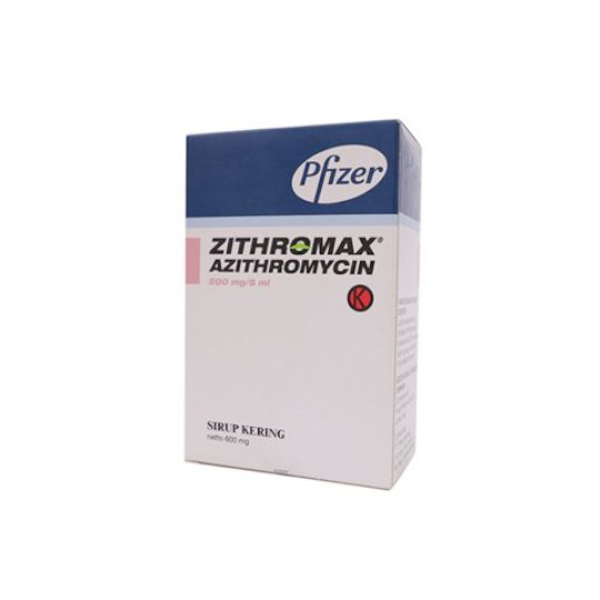 ZITHROMAX POS 600 DRY SIRUP 15 ML