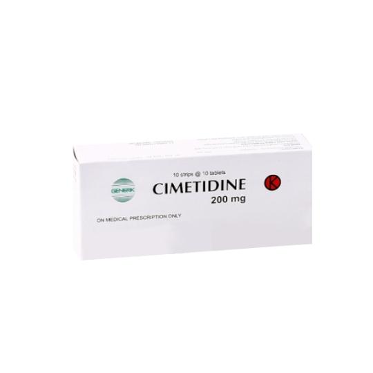 CIMETIDINE 200 MG 10 TABLET