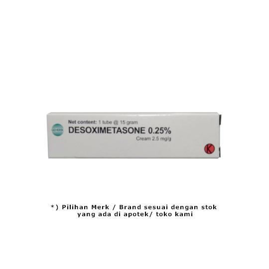DESOXIMETASONE 0.25 % CREAM 15 GR