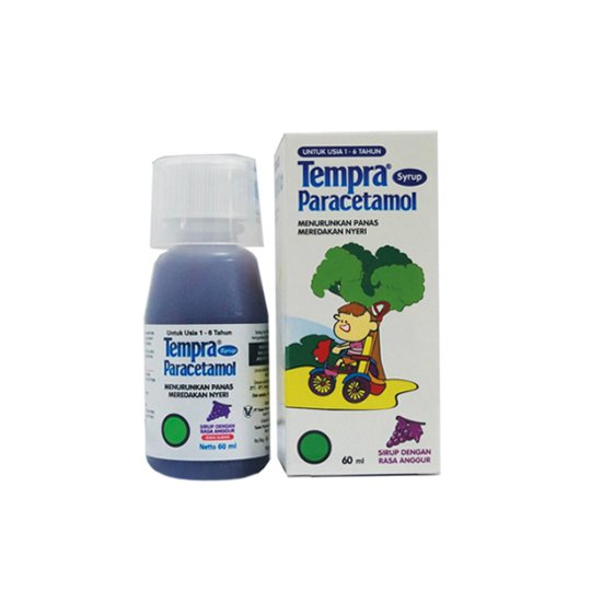 TEMPRA SIRUP 60 ML