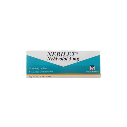 NEBILET 5 MG 14 TABLET