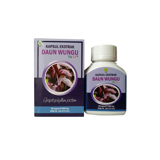 Kapsul Daun Ungu 500 mg 50 Kapsul