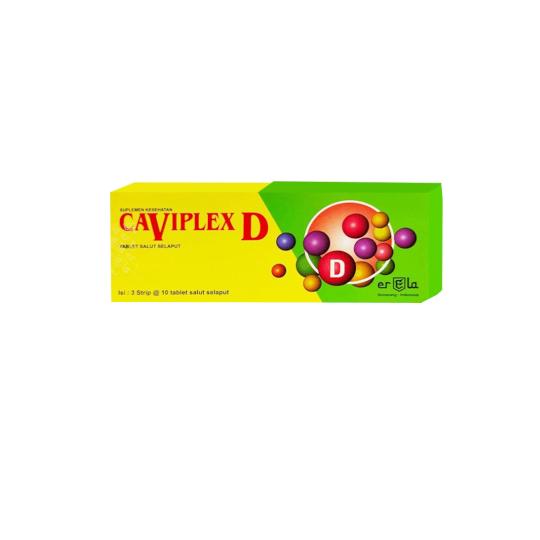 Caviplex D 10 Tablet