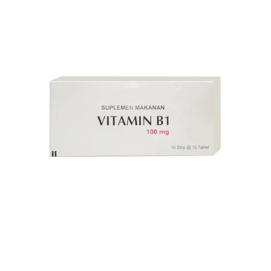 VITAMIN B1 100 MG 10 TABLET