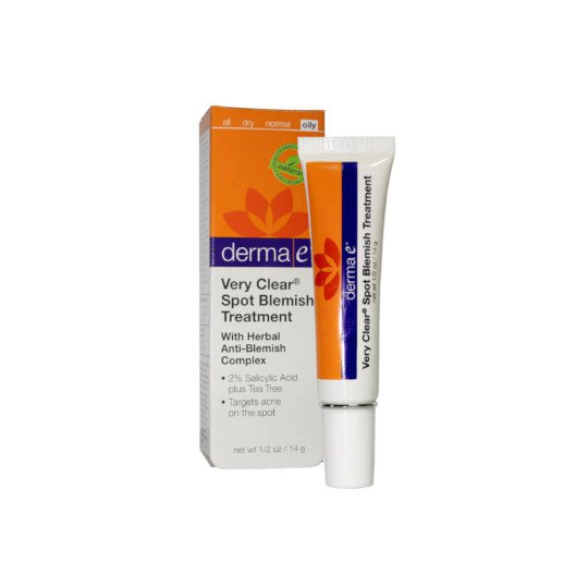 DERMA E VERY CLEAR SPOT TREATMENT ANTI BLEMISH 14 GR