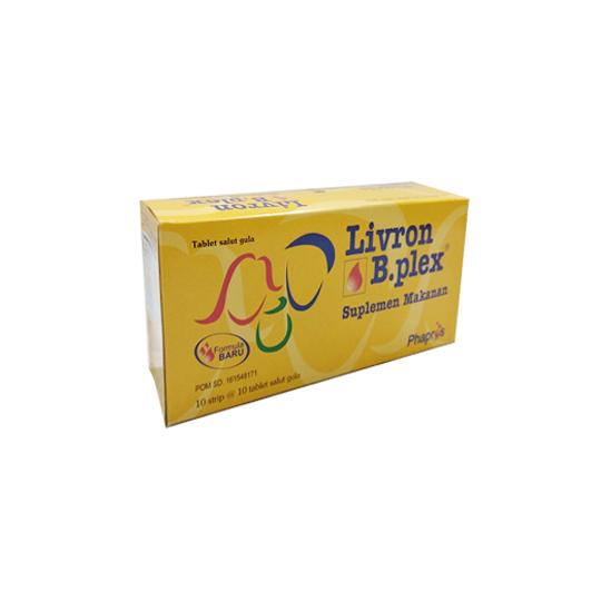 LIVRON B-PLEX MULTIVITAMIN & MINERAL 10 TABLET