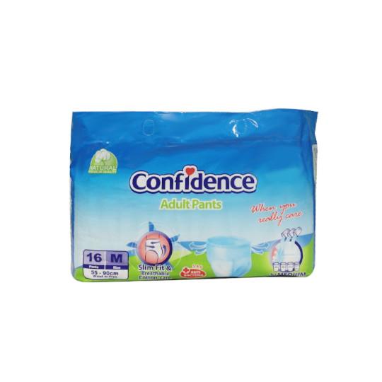CONFIDENCE ADULT PANTS M 16 PIECES