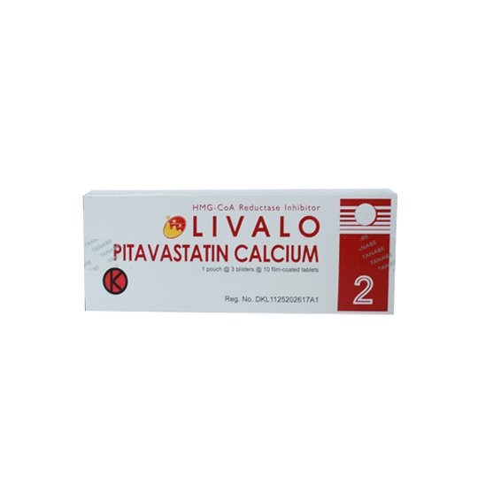LIVALO TABLET 2 MG 10 TABLET