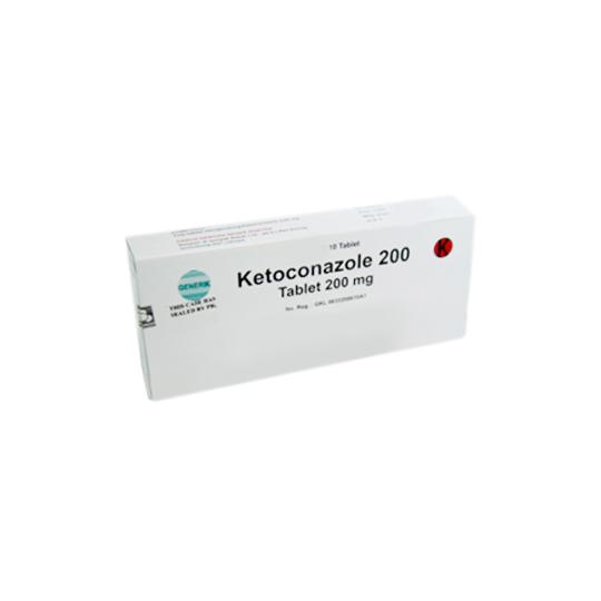 KETOCONAZOLE 200 MG 10 TABLET