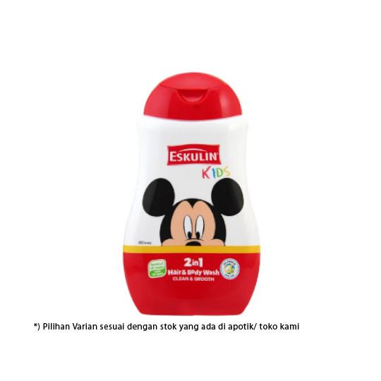Eskulin Kids 2In1 Hair & Body Wash Mickey 280 ml