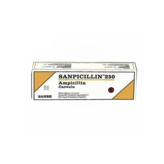 SANPICILLIN 250 MG 10 KAPSUL