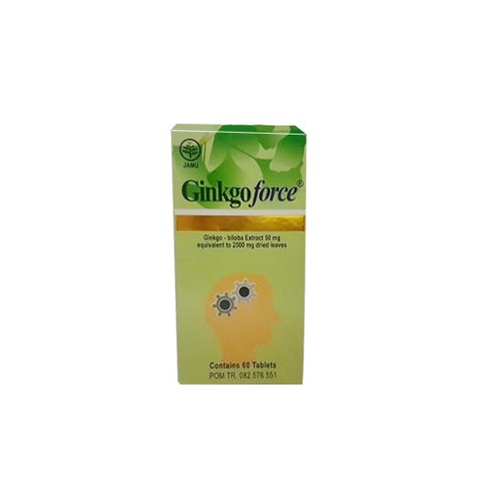 GINKGOFORCE TABLET 50 MG
