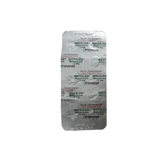 MEVILOX 7.5 MG 10 TABLET