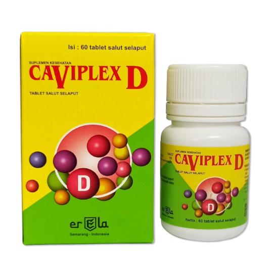 Caviplex D 60 Tablet