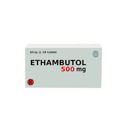ETHAMBUTOL 500 MG 10 TABLET