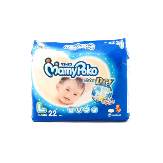 Mamy Poko Extra Dry L 22 Pieces
