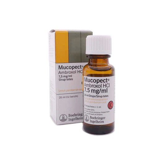 MUCOPECT 7.5 MG/ML DROPS 20 ML