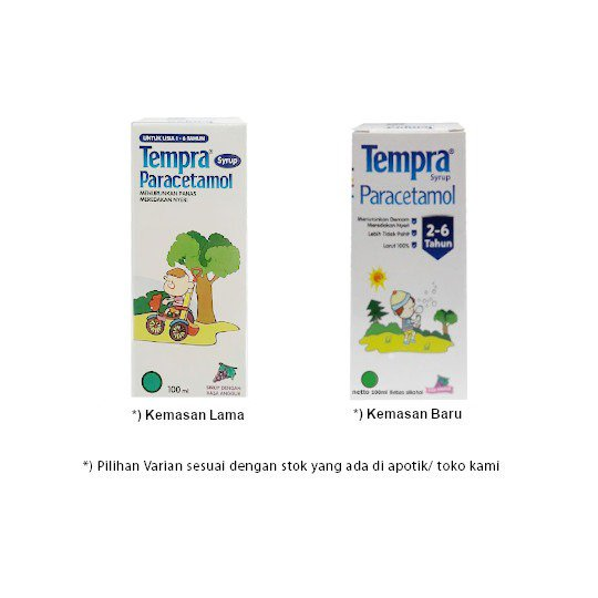 TEMPRA SIRUP 100 ML